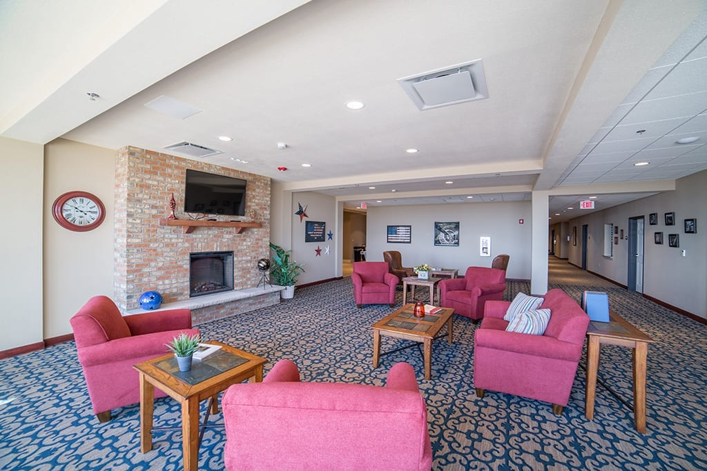 The Village at Skyline Pines Memory Care Lounge Area