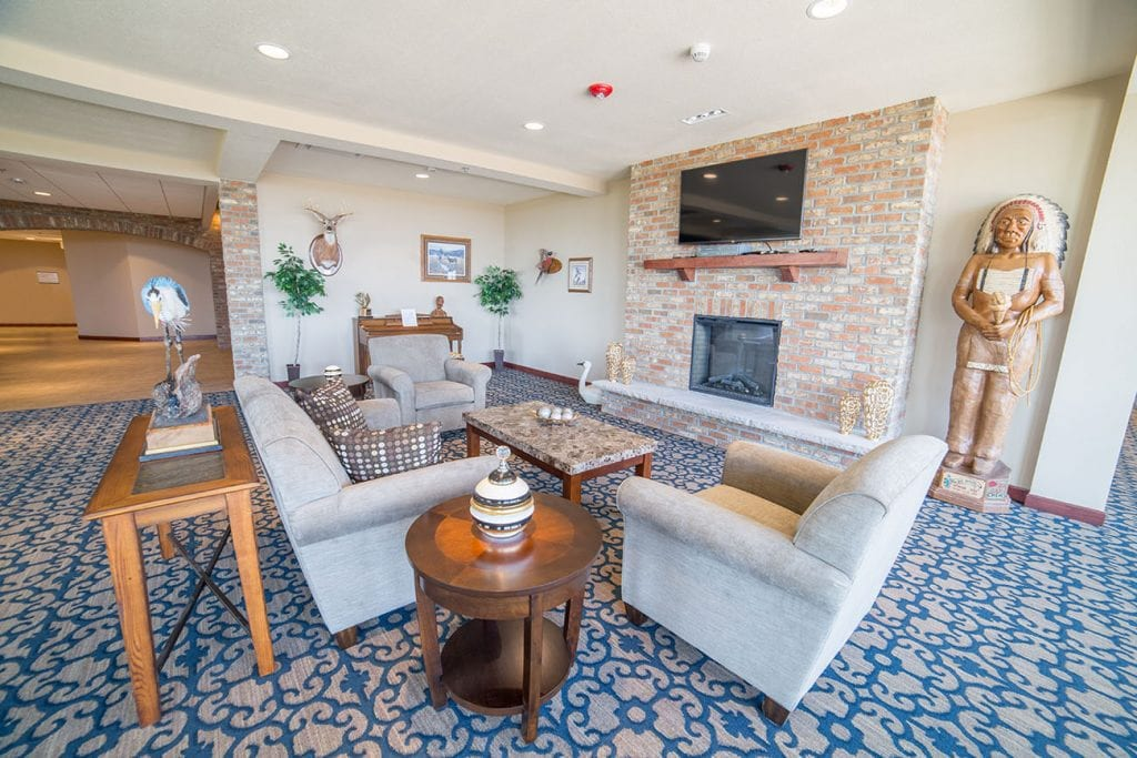 The Village at Skyline Pines Assisted Living Lounge Area