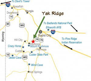 Yak Ridge Area Map HI Res