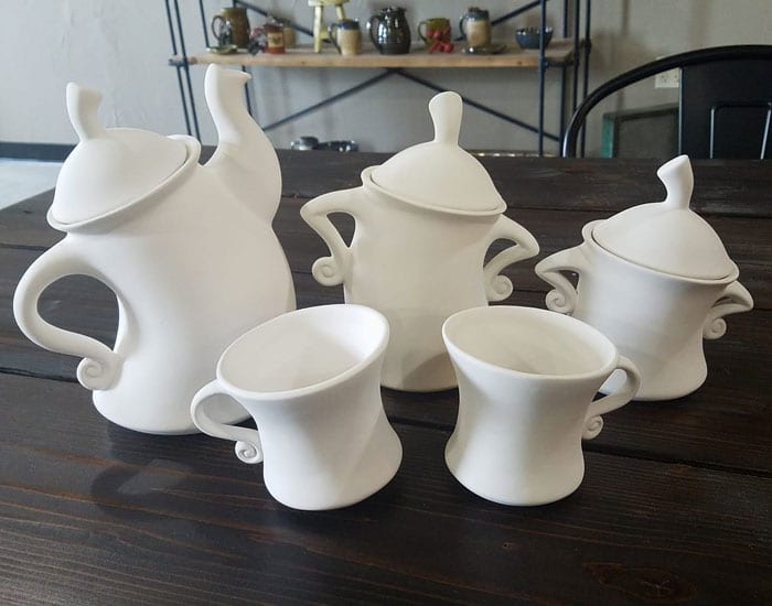 Tea Cups and Pots