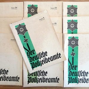 1934 ISSUES OF THE NAZI POLICE PERIODICAL