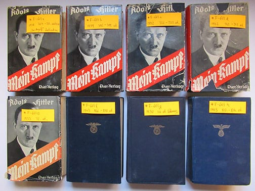 """1930-1943 PEOPLE'S EDITIONS OF ADOLF HITLERS """"MEIN KAMPF"""""""