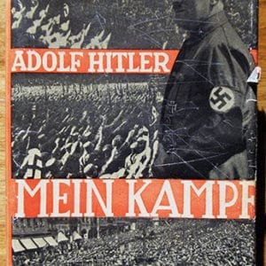 "1932 PEOPLE'S EDITION OF ADOLF HITLERS ""MEIN KAMPF"" WITH RARE DUST JACKET"
