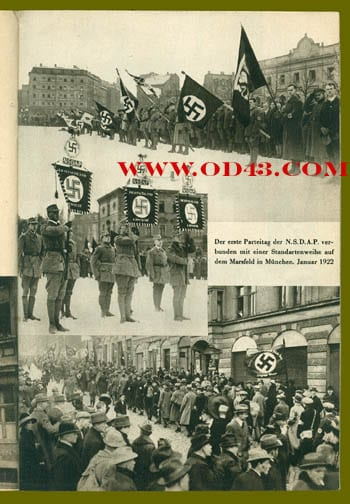 1933 H. HOFFMANN PHOTO BOOK ON THE RISE OF HITLER AND THE NSDAP