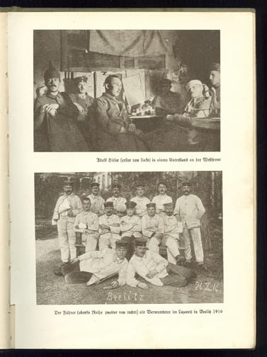 1933 THIRD REICH PHOTO BOOK ON HITLER FOR THE GERMAN YOUTH