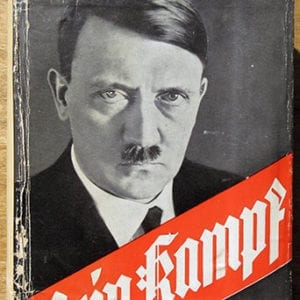 """1933 PEOPLE'S EDITION OF ADOLF HITLERS """"MEIN KAMPF"""""""