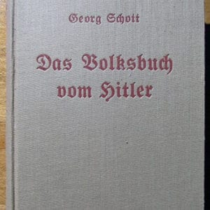 1934 ADOLF HITLER BIOGRAPHY