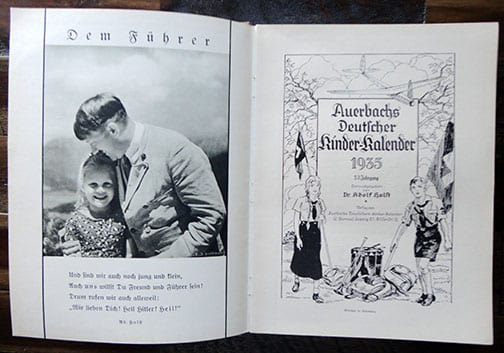 "RARE 1935 ""AUERBACH"" PHOTO YEAR BOOK"