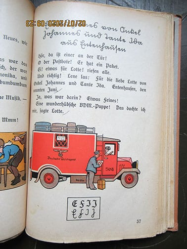 1935 PRIMARY READER WITH NATIONAL SOCIALIST CONTENT