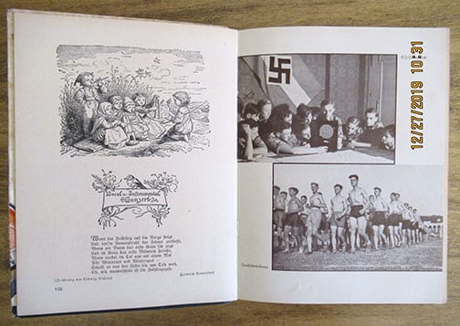 1935 HITLER YOUTH / B.D.M. CALENDAR-YEARBOOK