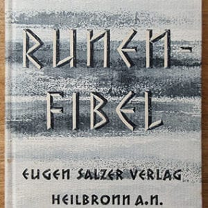 1935 FIRST EDITION BOOK ON RUNIC SYMBOLS