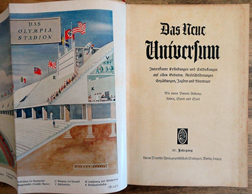 1936 ILLUSTRATED YEARBOOK FOR HITLER YOUTH BOYS