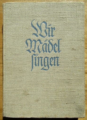 1937 OFFICIAL B.D.M. SONGBOOK