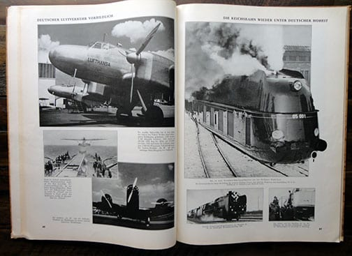 1937 PHOTO BOOK THE FIRST FOUR YEARS OF HITLER-GERMANY