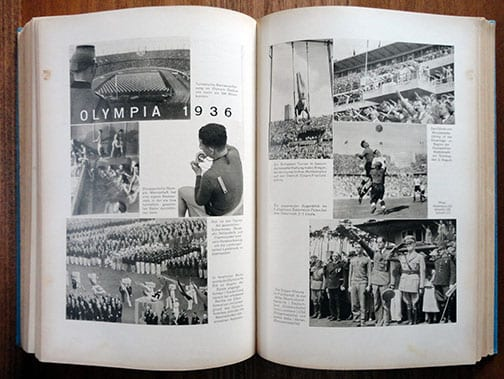 1937 PHOTO YEARBOOK FOR HITLER YOUTH BOYS