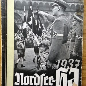 1937 NORTH SEA HITLER-JUGEND MARCHES PHOTO BOOK