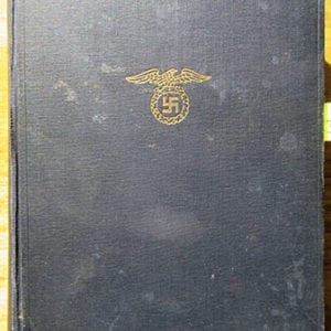 """1937 PEOPLE'S EDITION OF ADOLF HITLERS """"MEIN KAMPF"""""""