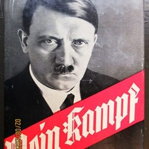 "1938 PEOPLE'S EDITION OF ADOLF HITLERS ""MEIN KAMPF"""