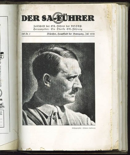 1938 ISSUES OF THE S.A. LEADER PERIODICAL IN ORIGINAL BINDER
