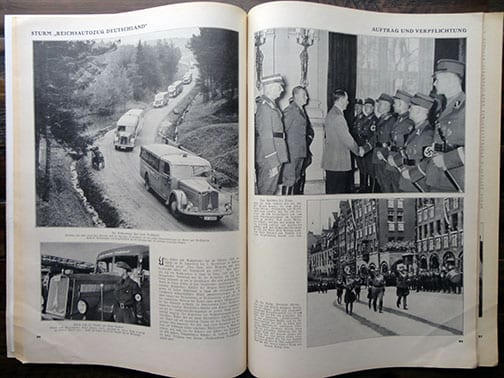 1938 PHOTO BOOK ON THE S.A.