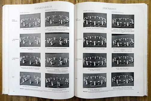 1939 PHOTO BOOK ON DANCE AND GYMNASTICS FOR BDM GIRLS
