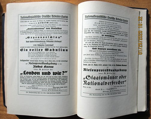 "1939 SPECIAL EDITION OF ADOLF HITLERS ""MEIN KAMPF"""