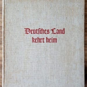 1939 SS-AHNENERBE PHOTO BOOK ON OSTMARK & SUDETENLAND
