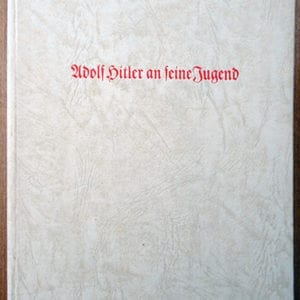 1940 HITLER YOUTH LEADER BOOK