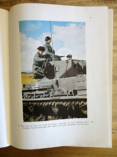1941 THIRD REICH FULL COLOR PHOTO BOOK ON THE WEHRMACHT