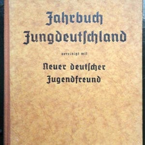 1942 HITLER-JUGEND JUNGVOLK PHOTO YEARBOOK