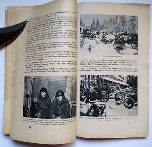 1941 THIRD REICH PHOTO BOOK JUSTIFYING THE WAR AGAINST RUSSIA