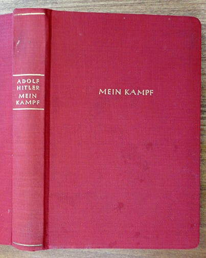 "1941 SOLDIER'S EDITION OF ADOLF HITLERS ""MEIN KAMPF"""