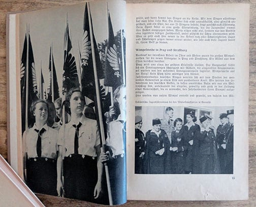 1942 NAZI BdM PHOTO YEAR BOOK