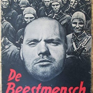 1942 BELGIAN EDITION OF THE SS-HAUPTAMT PHOTO BOOK ON JEWISH & BOLSHEVIST SUBHUMANS