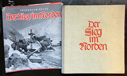 1942 THIRD REICH PHOTO BOOK ON THE WAR IN DENMARK AND NORWAY