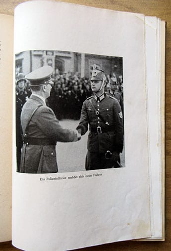 1943 PHOTO BOOK 'POLICE IN ACTION IN THE EAST, NORTH AND WEST'