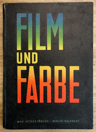 1943 PHOTO BOOK ON COLOR MOVIES
