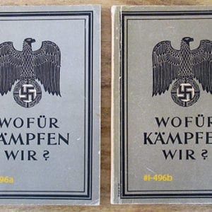1944 THIRD REICH WAR PROPAGANDA PHOTO BOOK