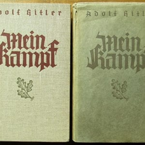 """TWO VOLUME SPECIAL EDITION OF ADOLF HITLERS """"MEIN KAMPF"""""""