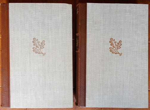 "2 VOLUME SPECIAL EDITION SETS OF ADOLF HITLERS ""MEIN KAMPF"" b"