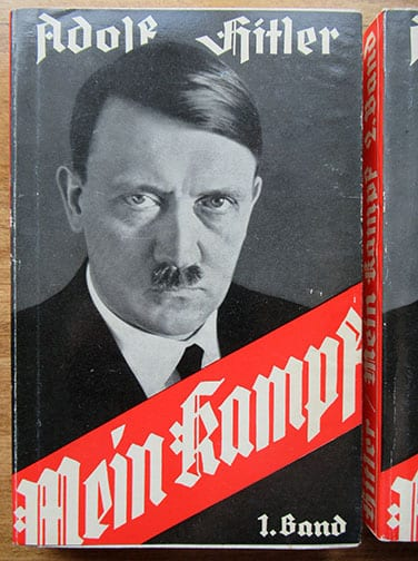 """1939 BOXED 2-VOLUME PAPERBACK EDITION OF ADOLF HITLERS """"MEIN KAMPF"""""""