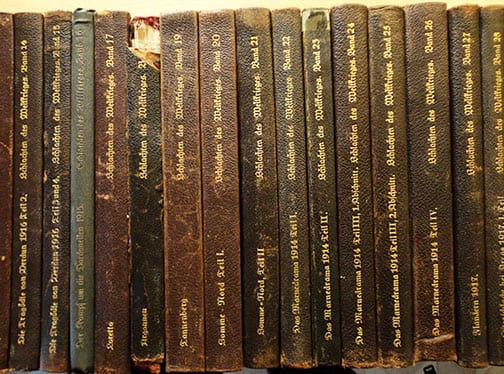 38(!) VOLUME BOOK SET COVERING WORLD WAR ONE