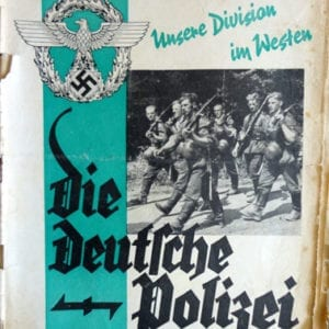 OFFICIAL NAZI POLICE PERIODICAL