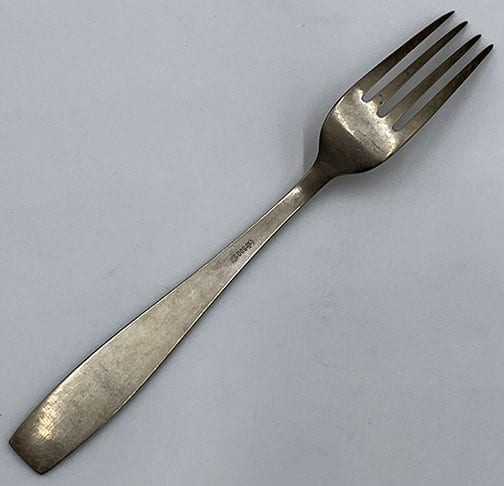 FORMAL PATTERN SALAD FORK OF THE FÜHRER'S SILVERWARE