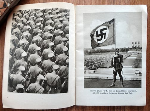 PHOTO BOOKLET ON THE 1933 REICH PARTY DAYS