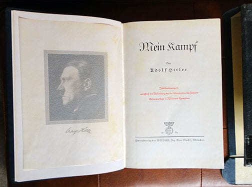 """1939 SPECIAL EDITION OF ADOLF HITLERS """"MEIN KAMPF"""" a"""