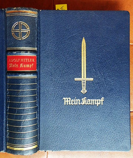 """1939 SPECIAL EDITION OF ADOLF HITLERS """"MEIN KAMPF"""" b"""
