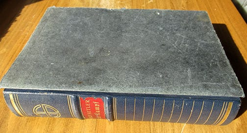 """1939 SPECIAL EDITION OF ADOLF HITLERS """"MEIN KAMPF"""" (1)"""