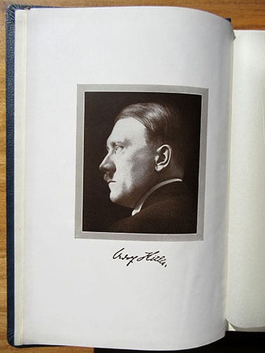"""1939 SPECIAL EDITION OF ADOLF HITLERS """"MEIN KAMPF"""" (3)"""