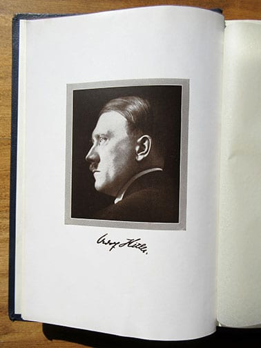 "1939 SPECIAL EDITION OF ADOLF HITLERS ""MEIN KAMPF"" (4)"